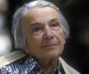 Russian-French Woman writer NATHALIE SARRAUTE / NATHALIE SARRAUTE, scrittrice  ©Marcello Mencarini/leemage